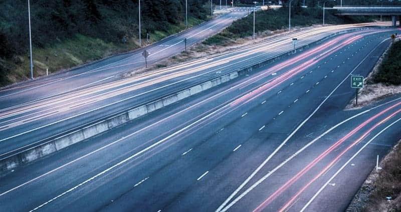 Hastighed på motorvej